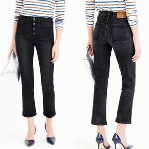 J. Crew Point Sur Vintage Patch Pocket Crop Jean